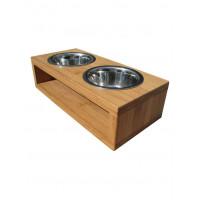 Подставка для собак и кошек на 2 миски SLOVE