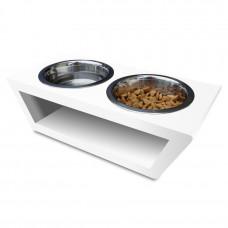 Подставка для собак и кошек на 2 миски VLOVE