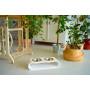 Подставка для корма с мисками для собак и кошек OVAL